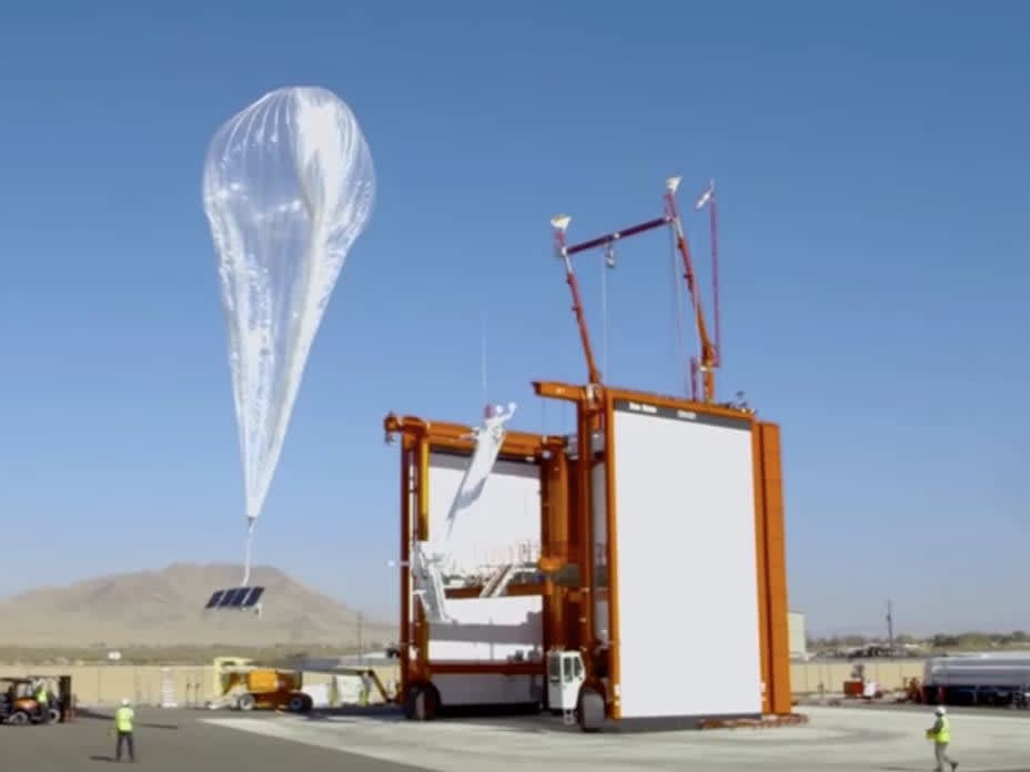 High-speed internet available in Kenya via floating balloons