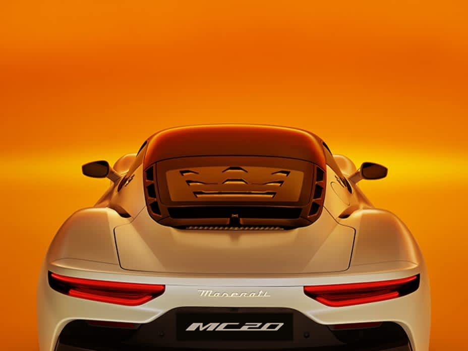 First Look at Maserati's New MC20 Supercar