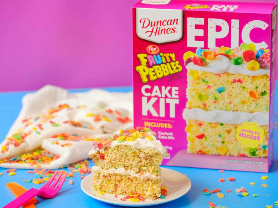 Duncan Hines' New Cakes Take Funfetti to the Next Level