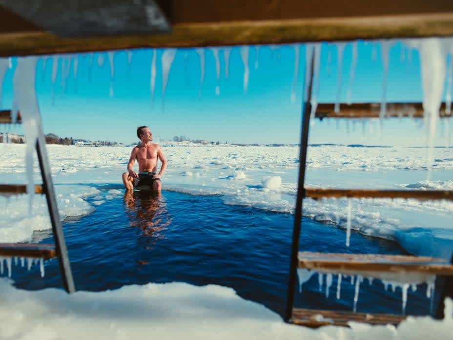 Need to Warm Your Soul? Try Jumping In Subzero Water