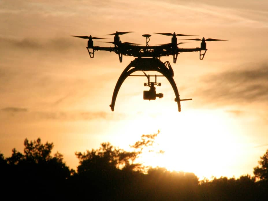 Flying drones safely in densely populated Singapore
