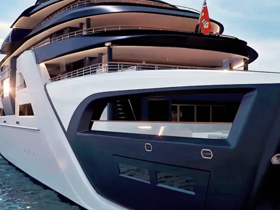 A Superyacht Concept with Military-Grade Security