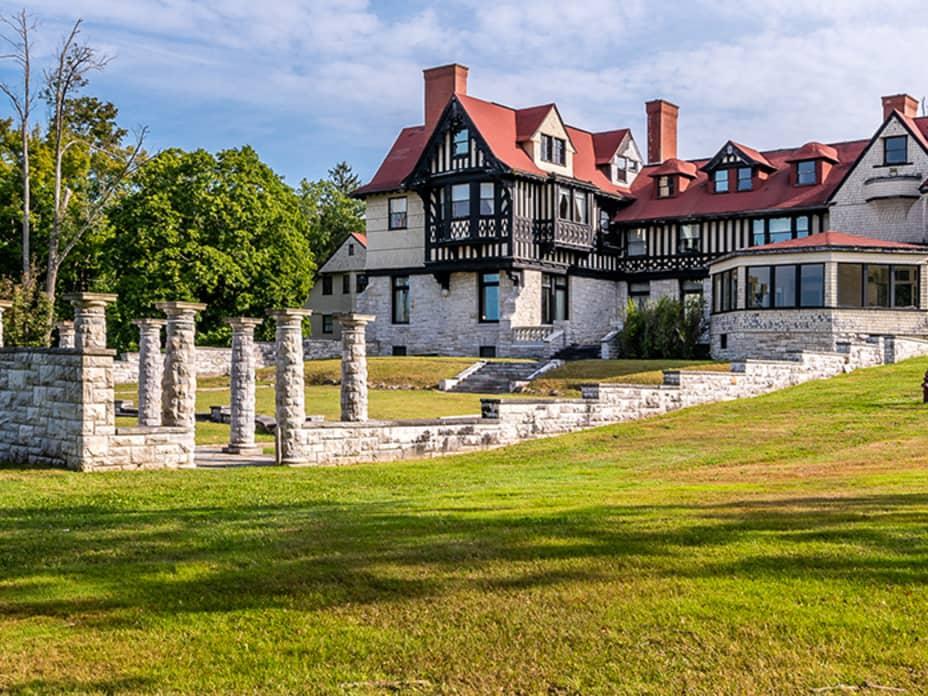 Inside a $12.5 Million Vanderbilt Mansion in the Berkshires