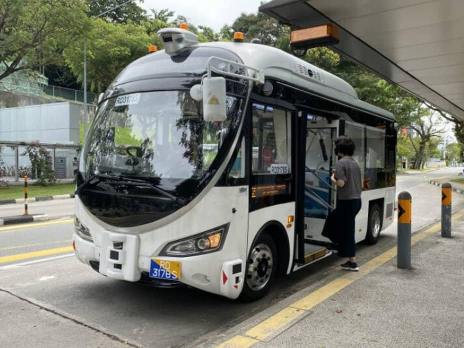 Is the future of Singapore's public transport driverless?