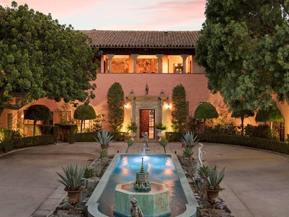Inside the $90 Million Hearst Estate in Beverly Hills
