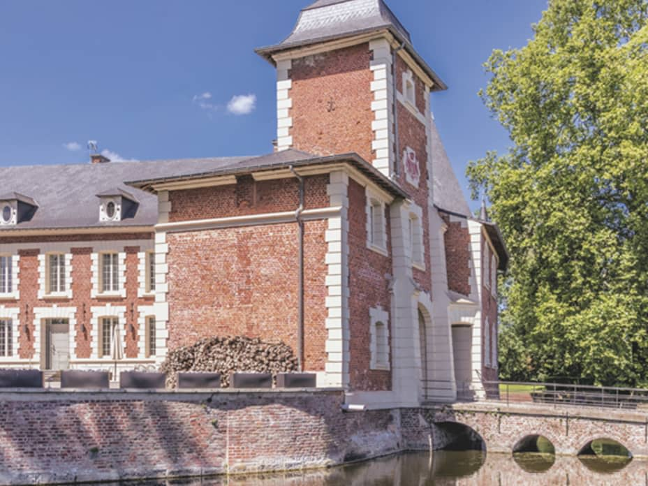 Inside a $3.5 Million French Château—With a Moat
