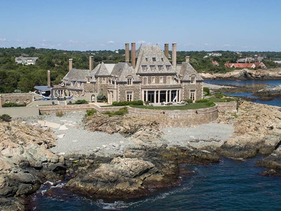 Inside Jay Leno's $13.5 Million Newport Mansion