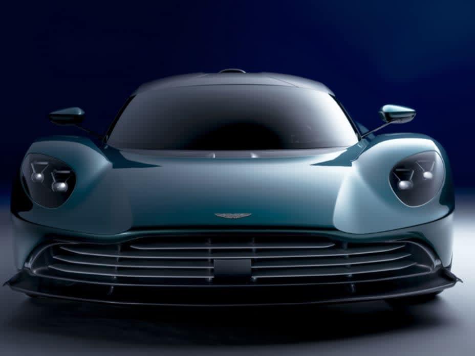 See James Bond's New Hybrid Supercar: The Aston Martin Valhalla